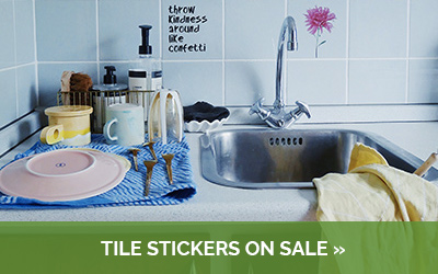 Find our tile stickers on sale here