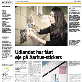 Stor artikel i Aarhus Stifttidende om Tile Junkies succes i udlandet