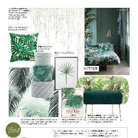 Femina - Tropiske drømme med palme sticker fra Home Junkie