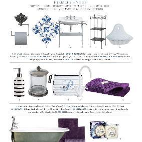 Isabellas - Skab et unikt badeværelse - Romantisk dekoration til dine fliser fra Home Junkie