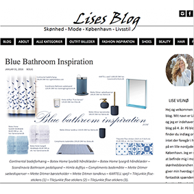 Lises Blog - Blue Bathroom Inspiration