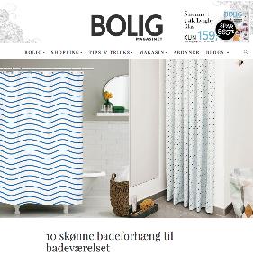 Boligmagsinet - 10 skønne badeforhæng