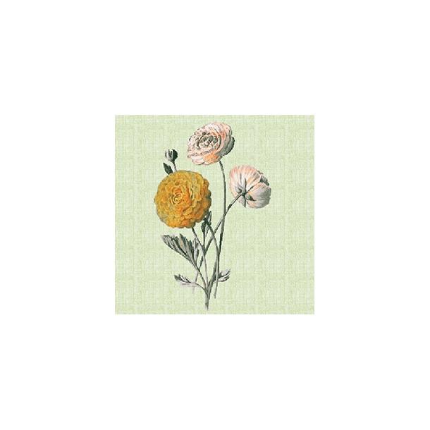 Blomst by Dims - Gennemsigtig sticker 15x15 cm