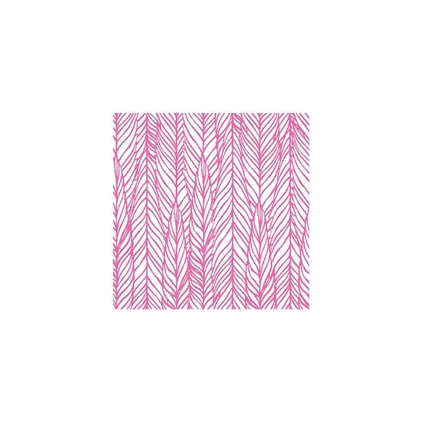 Pinkes Muster by Dims - Deckender Fliesenaufkleber 15x15 cm