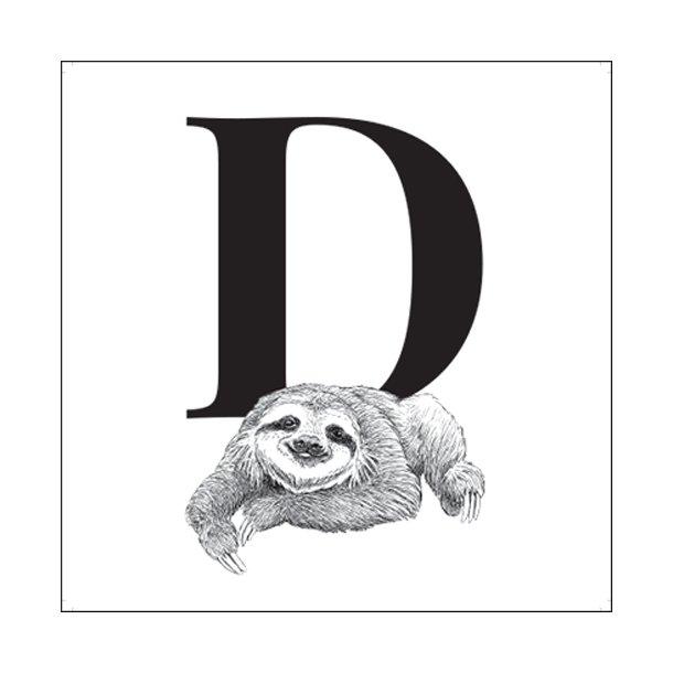 D - Gennemsigtig sticker 15x15 cm