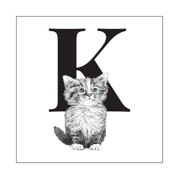 K - Gennemsigtig sticker 15x15 cm