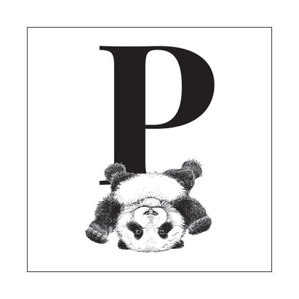 P - Gennemsigtig sticker 15x15 cm