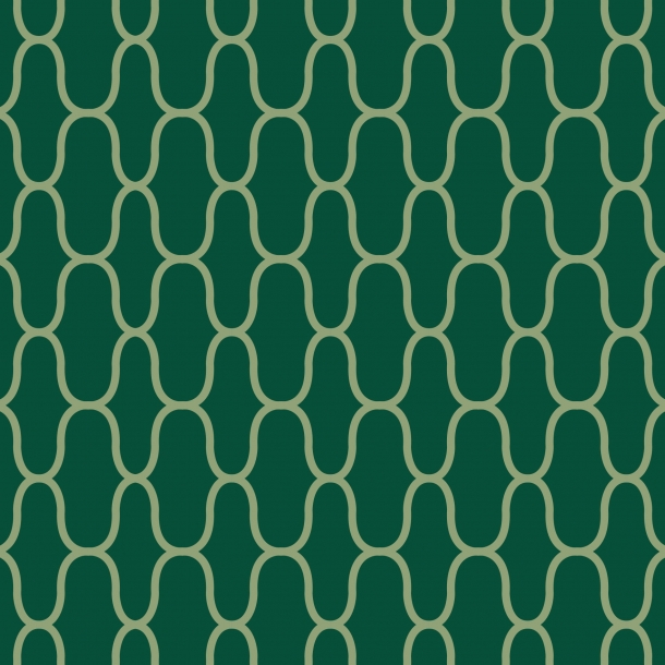 Netz - Grüner Mix - Deckender Fliesenaufkleber 15x15 cm